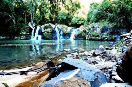 Cascata ... / Camping Perondi